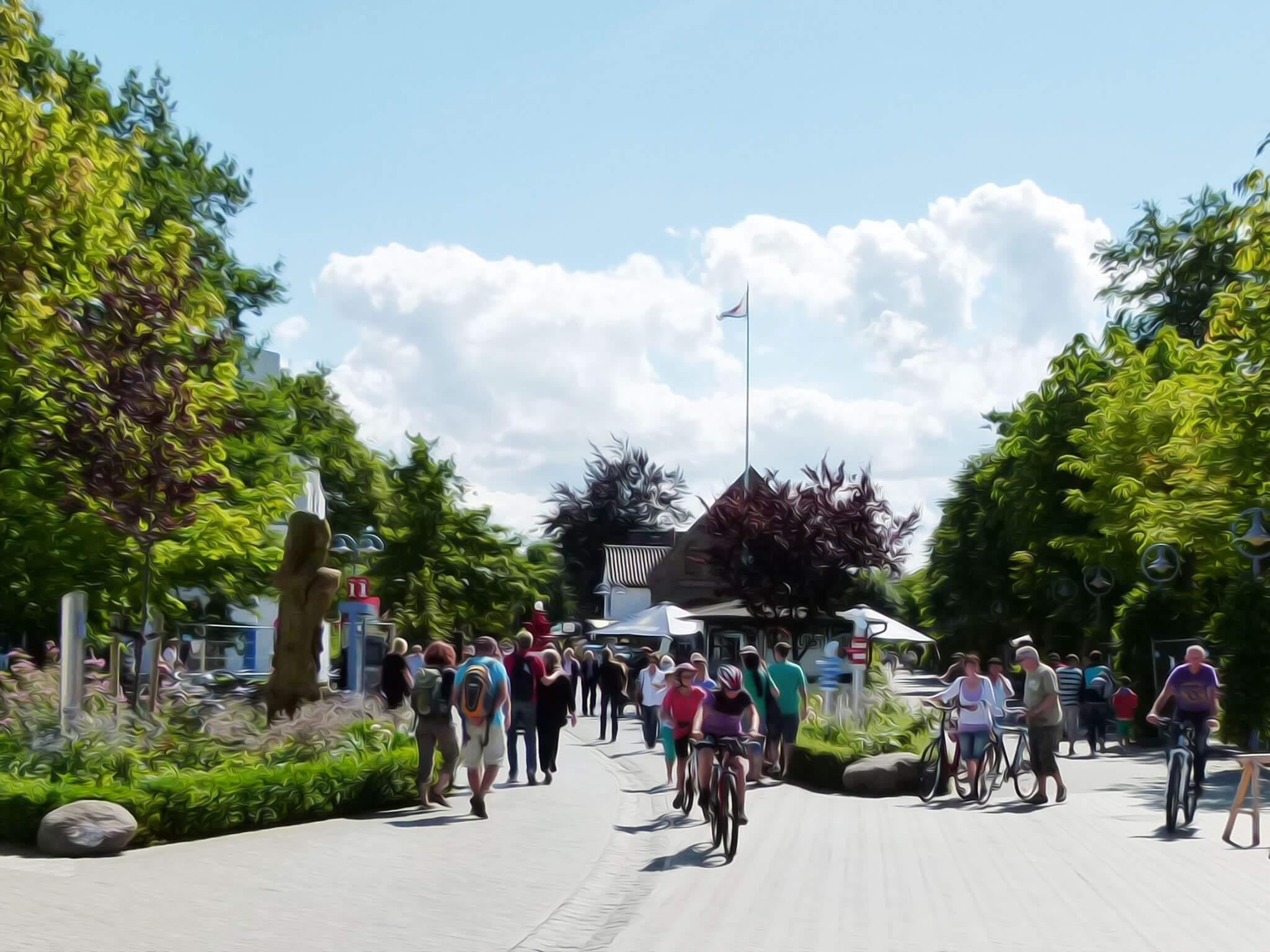 Einkaufspromenade Zingst