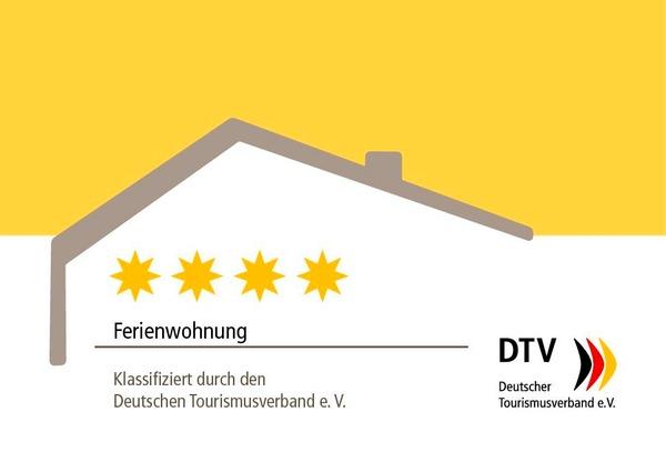 4-Sterne Ferienwohnung – Klassifizierung Deutscher Tourismusbund